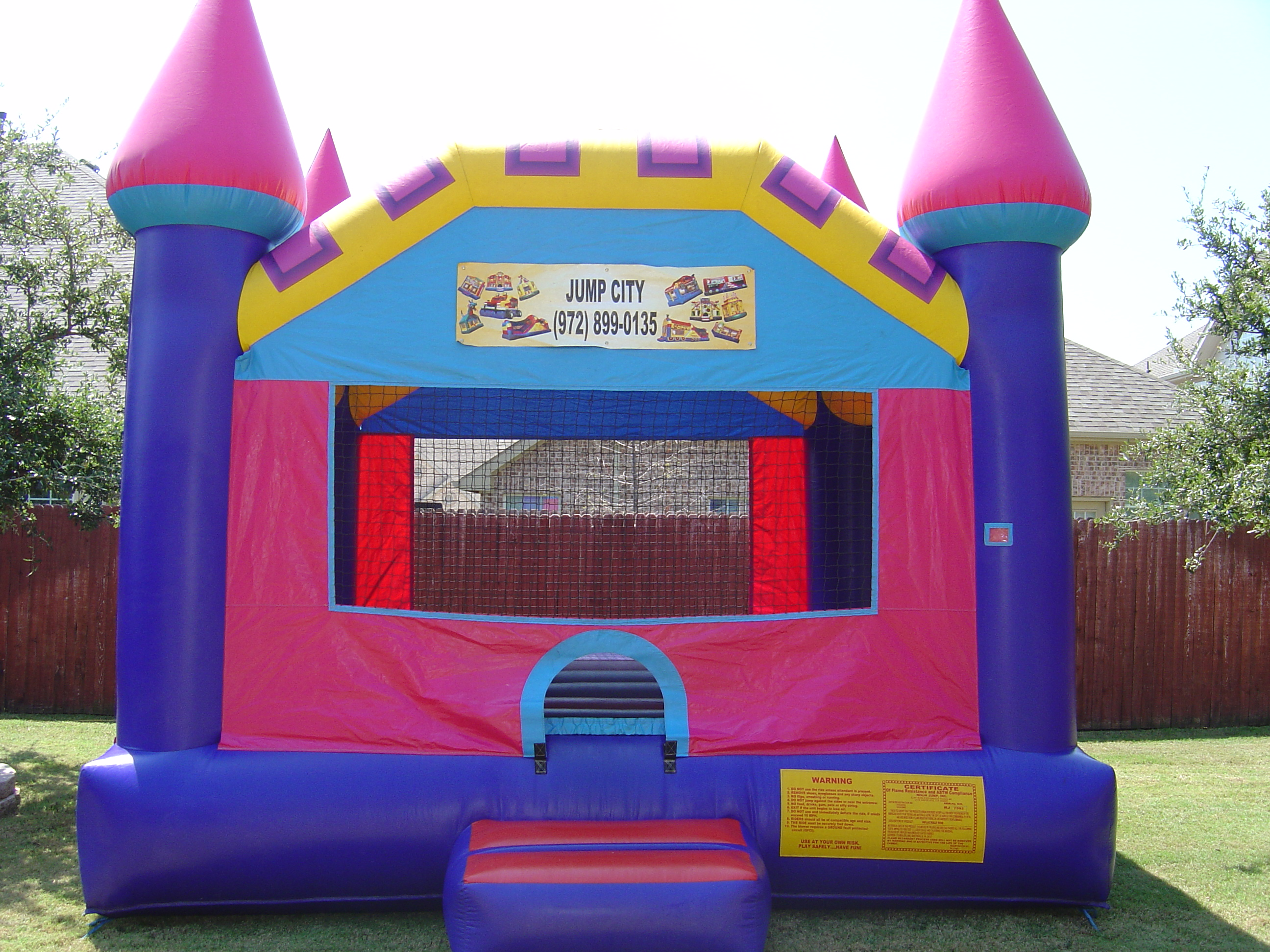 Dream Castle Bounce Houses Rent